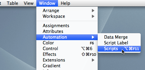 Dispersion » Articles » Scripting With Adobe InDesign